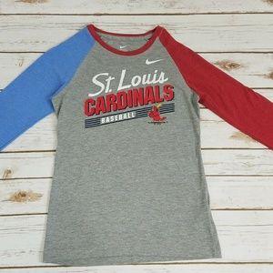 Nike Women's St.Louis MLB Cardinals Sport Shirt